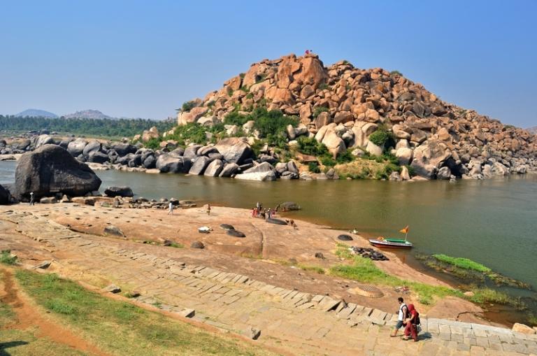 Ferry point near Kothandarama temple.